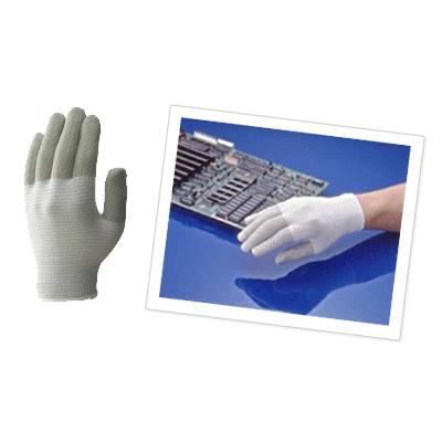 写真の検品に使う静電気対策用手袋