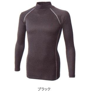 JW-172BT織柄チェックハイネックシャツ