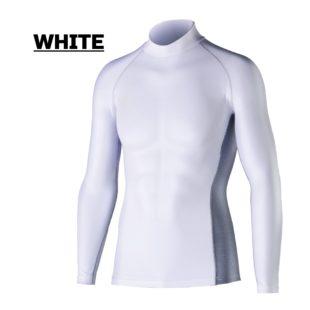 JW-625 冷感・消臭パワーストレッチ長袖ハイネックシャツ
